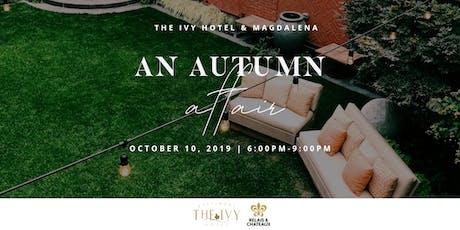 An Autumn Affair tickets