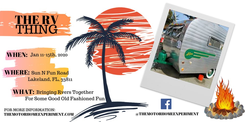 2020 Tampa Rv Show.The Rv Thing Tickets Sat Jan 11 2020 At 10 00 Am Eventbrite