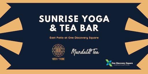 Sunrise Yoga & Tea Bar at One Discovery Square