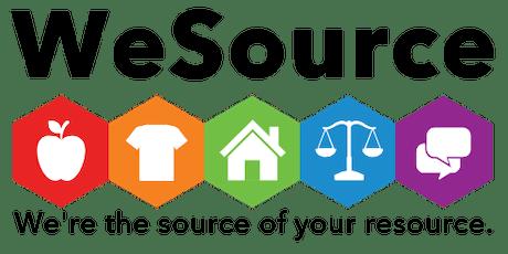 WeSource: SDOH Food Resources Webinar tickets