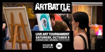 Art Battle Bath - 5 October, 2019