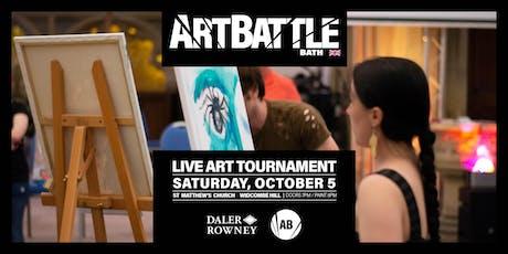 Art Battle Bath - 5 October, 2019 tickets