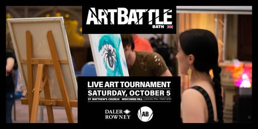 Art Battle Bath - 5 October, 2019