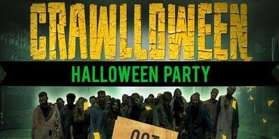 CRAWLLOWEEN - CRAWL - CRUISE  MEGA YACHT PARTY | HALLOWEEN PARTY