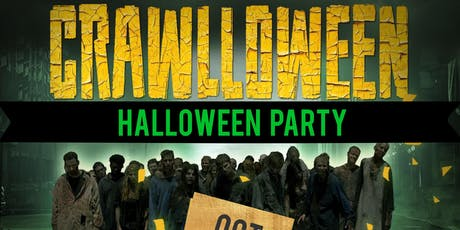 CRAWLLOWEEN - CRAWL - CRUISE  MEGA YACHT PARTY | COSTUME PARTY  tickets
