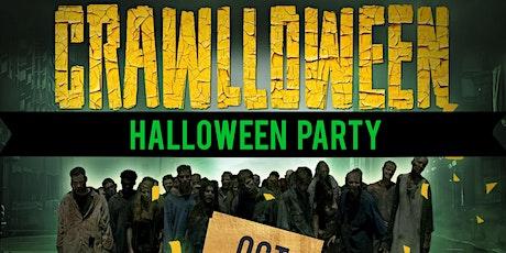 CRAWLLOWEEN - CRAWL - CRUISE  MEGA YACHT PARTY | HALLOWEEN PARTY  tickets
