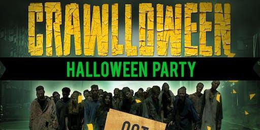 CRAWLLOWEEN - CRAWL - CRUISE  MEGA YACHT PARTY | HALLOWEEN PARTY