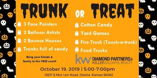 Trunk or Treat at Olathe Keller Williams Diamond Partners