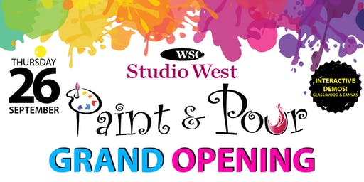 SW Paint & Pour Grand Opening