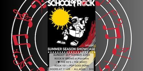 Summer Season Showcase  - School of Rock Overland Park tickets