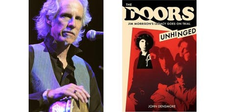 "John Densmore Book Signing -- ""The Doors: Unhinged"" tickets"
