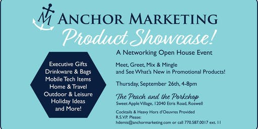 Anchor Marketing Product Showcase