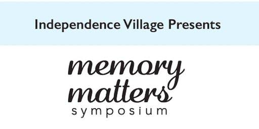 Independence Village of Avon Lake's Memory Matters Symposium
