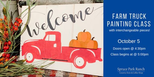 Farm Truck Painting Class