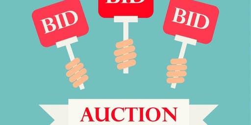 FREE to Attend:  Silent Auction and Bake Sale