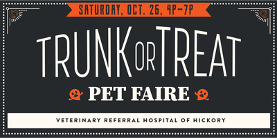 Trunk or Treat Pet Faire