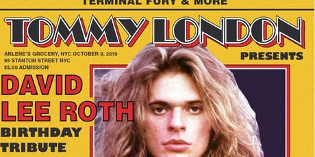 David Lee Roth Tribute tickets