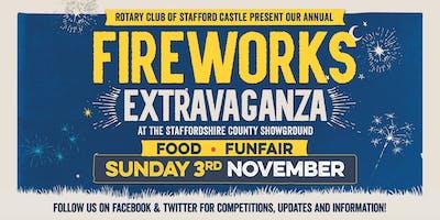 Staffordshire Fireworks Extravaganza