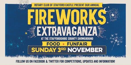 Staffordshire Fireworks Extravaganza tickets