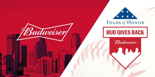Bud Gives Back: Twins Away Game Watch Party