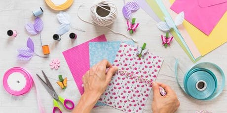 Crafting 101: Card Making Class (set of 5) tickets
