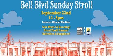 Free Bell Boulevard Sunday Stroll tickets