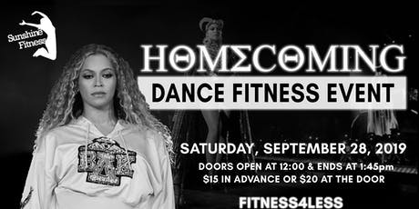 "Sunshine Fitness Presents ""HOMECOMING""  tickets"