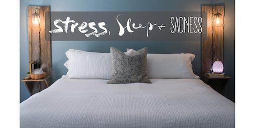 Essential Oils for Stress, Sleep & Sadness