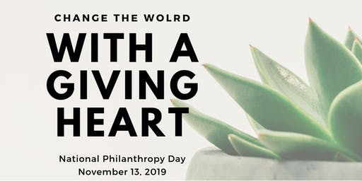2019 National Philanthropy Day Luncheon