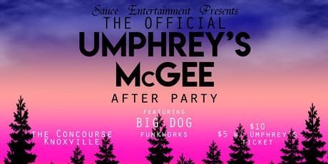 The Official Umphrey's McGee Afterparty tickets