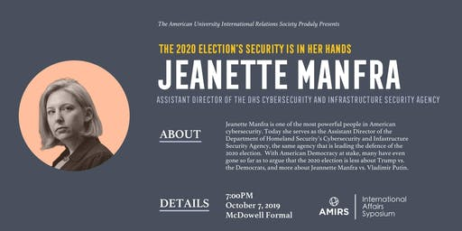 AMIRS Presents: Jeanette Manfra