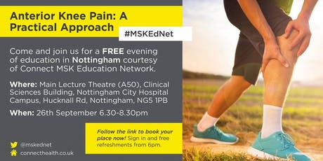 Anterior Knee Pain - Nottingham tickets