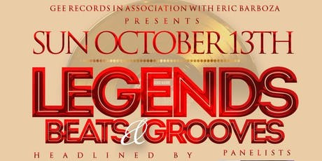 Legends, Beats, & Grooves tickets
