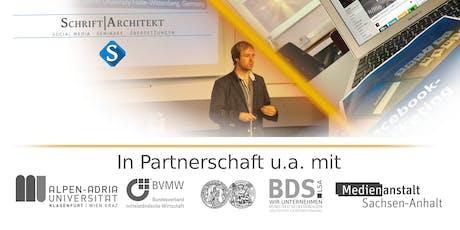 Seminar: Social Media im Beruf: Online-Marketing und Öffentlichkeitsarbeit (MKZ) Tickets