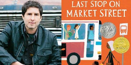 Meet the Author: Matt de la Peña tickets