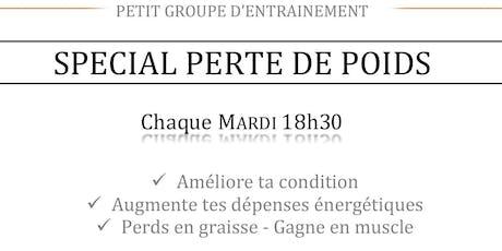 Perte de Poids - Cours groupé tickets