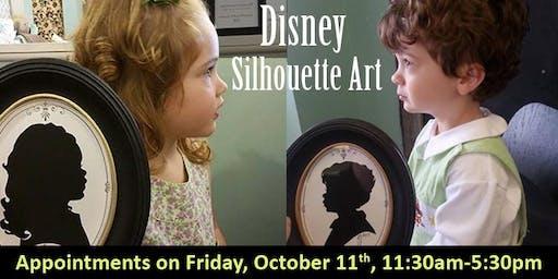 Disney Silhouette Art