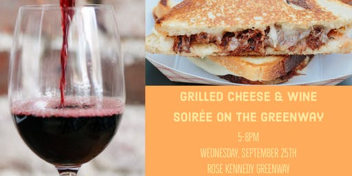 Grilled Cheese and Wine Soirée on The Greenway