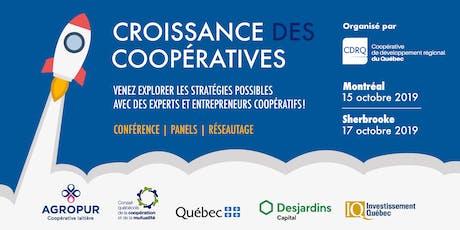 Activité-conférence : Croissance des coopératives billets