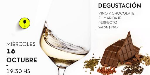 Fusión vino y chocolate!