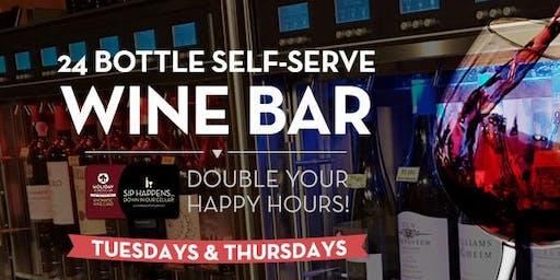 #HappyDays | 1/2 Priced Wine Bar