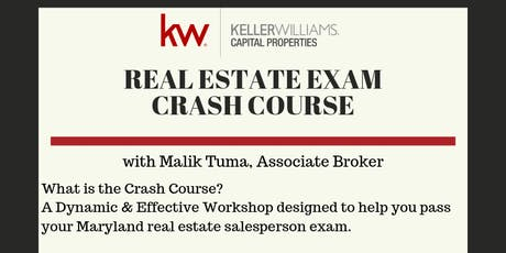 FREE Maryland Real Estate Exam Crash Course   tickets