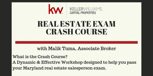FREE Maryland Real Estate Exam Crash Course