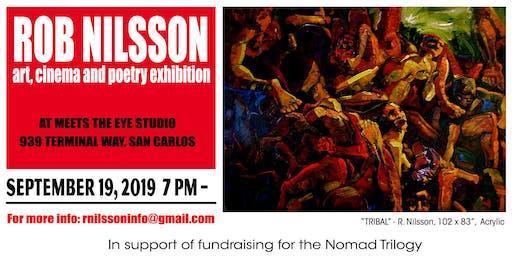 Art Show - Rob Nilsson's cinema, poetry, art exhibition + Cinema Temple