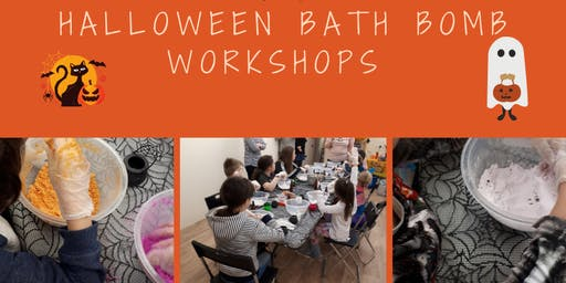 Molly & Me Candles presents Halloween Bath Bomb Workshops at The Hive