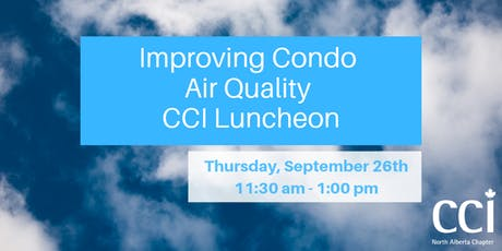 Improving Condo Air Quality Luncheon tickets