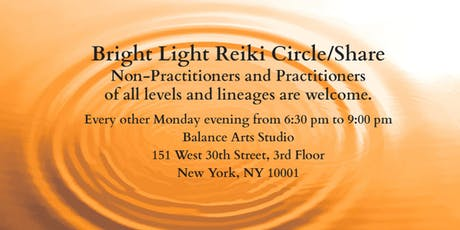 Bright Light Reiki Circle and Share tickets