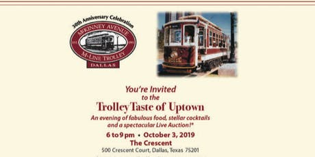 Trolley Taste of Uptown 2019 tickets