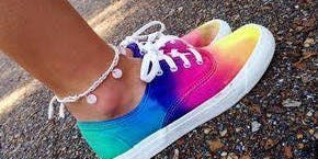 Tie Dye Tennis Shoes