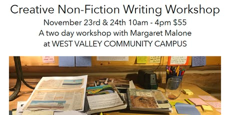 Creative Non-Fiction Writing Workshop tickets